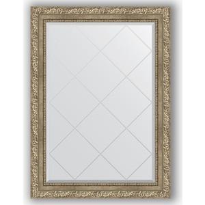 Зеркало с гравировкой Evoform Exclusive-G 75x102 см, в багетной раме - виньетка античное серебро 85 мм (BY 4186)  - купить со скидкой