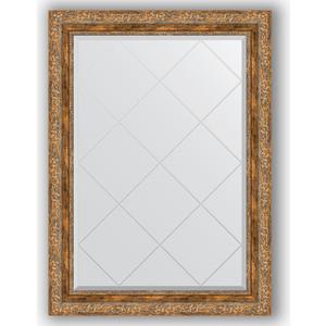 Зеркало с гравировкой поворотное Evoform Exclusive-G 75x102 см, в багетной раме - виньетка античная бронза 85 мм (BY 4187) зеркало с гравировкой поворотное evoform exclusive g 55x72 см в багетной раме виньетка античная бронза 85 мм by 4015