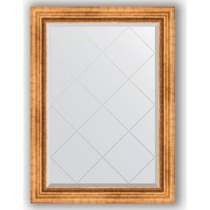 Зеркало с гравировкой поворотное Evoform Exclusive-G 76x104 см, в багетной раме - римское золото 88 мм (BY 4189) цены