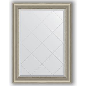 Зеркало с гравировкой поворотное Evoform Exclusive-G 76x104 см, в багетной раме - хамелеон 88 мм (BY 4192) зеркало с гравировкой поворотное evoform exclusive g 56x126 см в багетной раме хамелеон 88 мм by 4063