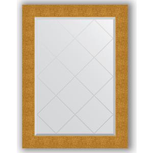 Зеркало с гравировкой Evoform Exclusive-G 76x104 см, в багетной раме - чеканка золотая 90 мм (BY 4194)  - купить со скидкой