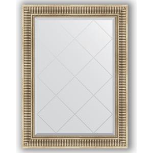 Зеркало с гравировкой поворотное Evoform Exclusive-G 77x105 см, в багетной раме - серебряный акведук 93 мм (BY 4196) 4196
