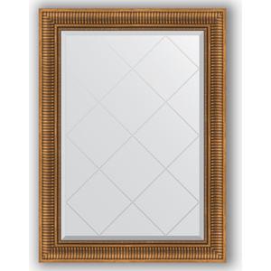 Зеркало с гравировкой Evoform Exclusive-G 77x105 см, в багетной раме - бронзовый акведук 93 мм (BY 4197)  - купить со скидкой