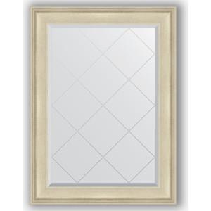 Зеркало с гравировкой Evoform Exclusive-G 78x105 см, в багетной раме - травленое серебро 95 мм (BY 4198)  - купить со скидкой