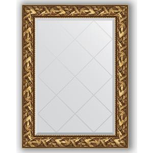 Зеркало с гравировкой поворотное Evoform Exclusive-G 79x106 см, в багетной раме - византия золото 99 мм (BY 4199) зеркало с гравировкой поворотное evoform exclusive g 99x124 см в багетной раме византия золото 99 мм by 4371
