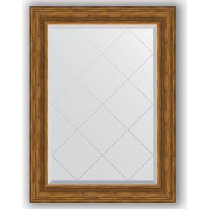 Зеркало с гравировкой Evoform Exclusive-G 79x106 см, в багетной раме - травленая бронза 99 мм (BY 4204)  - купить со скидкой