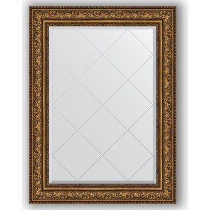 Зеркало с гравировкой Evoform Exclusive-G 80x108 см, в багетной раме - виньетка состаренная бронза 109 мм (BY 4212)  - купить со скидкой