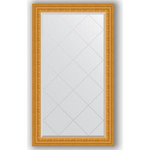 Зеркало с гравировкой поворотное Evoform Exclusive-G 75x129 см, в багетной раме - сусальное золото 80 мм (BY 4224) зеркало с гравировкой поворотное evoform exclusive g 130x184 см в багетной раме сусальное золото 80 мм by 4482