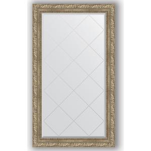 Зеркало с гравировкой поворотное Evoform Exclusive-G 75x130 см, в багетной раме - виньетка античное серебро 85 мм (BY 4229) зеркало с фацетом в багетной раме поворотное evoform exclusive 60x145 см виньетка античное серебро 85 мм by 3539