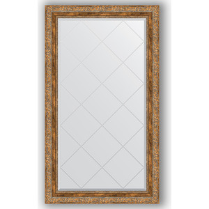 Зеркало с гравировкой поворотное Evoform Exclusive-G 75x130 см, в багетной раме - виньетка античная бронза 85 мм (BY 4230) зеркало с гравировкой поворотное evoform exclusive g 55x72 см в багетной раме виньетка античная бронза 85 мм by 4015