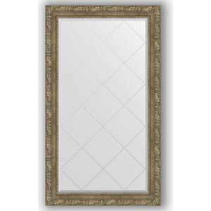 Зеркало с гравировкой поворотное Evoform Exclusive-G 75x130 см, в багетной раме - виньетка античная латунь 85 мм (BY 4231) зеркало с гравировкой поворотное evoform exclusive g 130x185 см в багетной раме виньетка бронзовая 85 мм by 4486