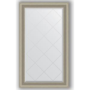 Зеркало с гравировкой поворотное Evoform Exclusive-G 76x131 см, в багетной раме - хамелеон 88 мм (BY 4235) зеркало с гравировкой поворотное evoform exclusive g 56x126 см в багетной раме хамелеон 88 мм by 4063