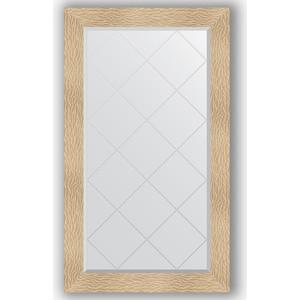 Зеркало с гравировкой поворотное Evoform Exclusive-G 76x131 см, в багетной раме - золотые дюны 90 мм (BY 4236)