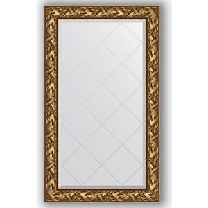 Зеркало с гравировкой поворотное Evoform Exclusive-G 79x133 см, в багетной раме - византия золото 99 мм (BY 4242) зеркало с гравировкой поворотное evoform exclusive g 99x124 см в багетной раме византия золото 99 мм by 4371