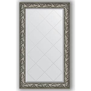 Зеркало с гравировкой поворотное Evoform Exclusive-G 79x133 см, в багетной раме - византия серебро 99 мм (BY 4243) maxel g 99 1005250348