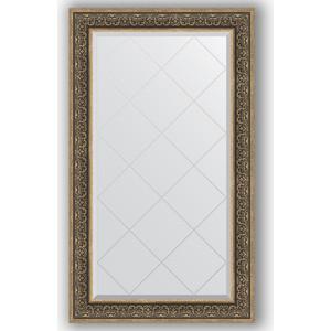 Зеркало с гравировкой поворотное Evoform Exclusive-G 79x134 см, в багетной раме - вензель серебряный 101 мм (BY 4250)