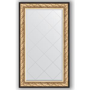 Зеркало с гравировкой поворотное Evoform Exclusive-G 80x135 см, в багетной раме - барокко золото 106 мм (BY 4251) зеркало с гравировкой поворотное evoform exclusive g 80x135 см в багетной раме барокко золото 106 мм by 4251