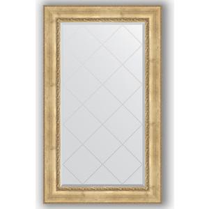 Зеркало с гравировкой поворотное Evoform Exclusive-G 82x137 см, в багетной раме - состаренное серебро с орнаментом 120 мм (BY 4256) зеркало с гравировкой evoform exclusive g 102x127 см в багетной раме состаренное серебро с орнаментом 120 мм by 4385