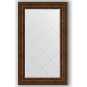Зеркало с гравировкой поворотное Evoform Exclusive-G 82x137 см, в багетной раме - состаренная бронза с орнаментом 120 мм (BY 4257) зеркало с гравировкой поворотное evoform exclusive g 82x110 см в багетной раме состаренная бронза с орнаментом 120 мм by 4214