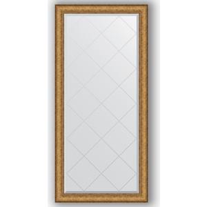 Зеркало с гравировкой поворотное Evoform Exclusive-G 74x156 см, в багетной раме - медный эльдорадо 73 мм (BY 4266) зеркало с гравировкой evoform exclusive g 64x86 см в багетной раме медный эльдорадо 73 мм by 4094