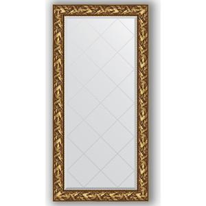 Зеркало с гравировкой поворотное Evoform Exclusive-G 79x161 см, в багетной раме - византия золото 99 мм (BY 4285) зеркало с гравировкой поворотное evoform exclusive g 99x124 см в багетной раме византия золото 99 мм by 4371