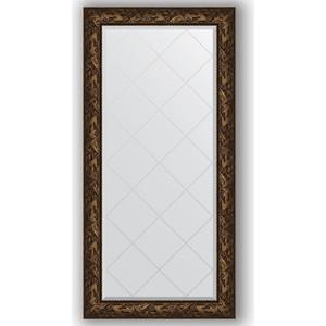 Зеркало с гравировкой поворотное Evoform Exclusive-G 79x161 см, в багетной раме - византия бронза 99 мм (BY 4287) база под макияж famous brand 100