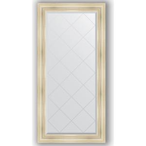 Зеркало с гравировкой поворотное Evoform Exclusive-G 79x161 см, в багетной раме - травленое серебро 99 мм (BY 4289) зеркало в багетной раме поворотное evoform definite 54x144 см травленое серебро 59 мм by 0718