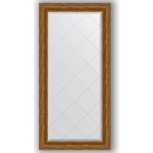 Зеркало с гравировкой поворотное Evoform Exclusive-G 79x161 см, в багетной раме - травленая бронза 99 мм (BY 4290) зеркало с гравировкой evoform exclusive g 99x174 см в багетной раме травленое серебро 99 мм by 4418