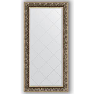 Зеркало с гравировкой поворотное Evoform Exclusive-G 79x161 см, в багетной раме - вензель серебряный 101 мм (BY 4293)