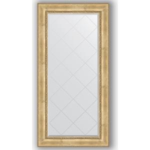 Зеркало с гравировкой поворотное Evoform Exclusive-G 82x164 см, в багетной раме - состаренное серебро с орнаментом 120 мм (BY 4299) зеркало с гравировкой evoform exclusive g 102x127 см в багетной раме состаренное серебро с орнаментом 120 мм by 4385