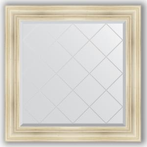 Зеркало с гравировкой Evoform Exclusive-G 89x89 см, в багетной раме - травленое серебро 99 мм (BY 4332) maxel g 99 1005250348