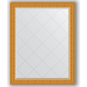 Зеркало с гравировкой поворотное Evoform Exclusive-G 95x120 см, в багетной раме - сусальное золото 80 мм (BY 4353) спот odeon light vega 1977 1w
