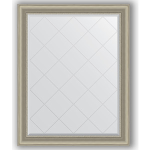 Зеркало с гравировкой поворотное Evoform Exclusive-G 96x121 см, в багетной раме - хамелеон 88 мм (BY 4364) зеркало с гравировкой поворотное evoform exclusive g 56x126 см в багетной раме хамелеон 88 мм by 4063