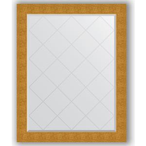 цена на Зеркало с гравировкой Evoform Exclusive-G 96x121 см, в багетной раме - чеканка золотая 90 мм (BY 4366)