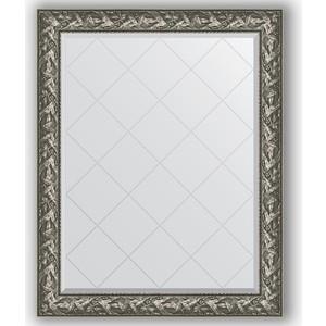 Зеркало с гравировкой поворотное Evoform Exclusive-G 99x124 см, в багетной раме - византия серебро 99 мм (BY 4372) maxel g 99 1005250348