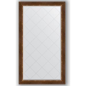 Зеркало с гравировкой поворотное Evoform Exclusive-G 96x171 см, в багетной раме - римская бронза 88 мм (BY 4406) зеркало с гравировкой поворотное evoform exclusive g 56x74 см в багетной раме римская бронза 88 мм by 4019