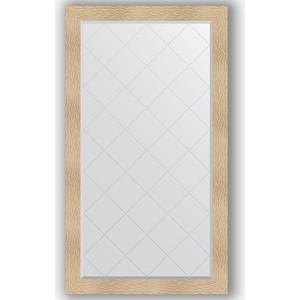 Зеркало с гравировкой поворотное Evoform Exclusive-G 96x171 см, в багетной раме - золотые дюны 90 мм (BY 4408)
