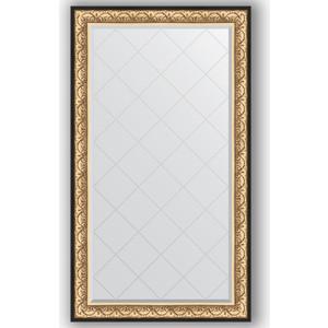 Зеркало с гравировкой поворотное Evoform Exclusive-G 100x175 см, в багетной раме - барокко золото 106 мм (BY 4423) зеркало с гравировкой поворотное evoform exclusive g 80x135 см в багетной раме барокко золото 106 мм by 4251