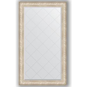 цены Зеркало с гравировкой поворотное Evoform Exclusive-G 100x175 см, в багетной раме - виньетка серебро 109 мм (BY 4426)