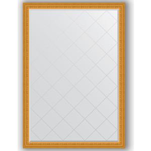 Зеркало с гравировкой поворотное Evoform Exclusive-G 130x184 см, в багетной раме - сусальное золото 80 мм (BY 4482) зеркало с гравировкой поворотное evoform exclusive g 130x184 см в багетной раме сусальное золото 80 мм by 4482