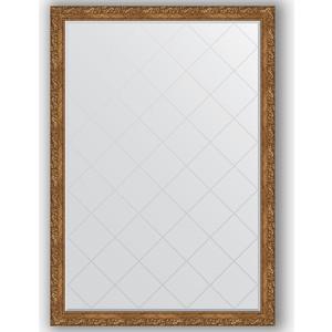Зеркало с гравировкой поворотное Evoform Exclusive-G 130x185 см, в багетной раме - виньетка бронзовая 85 мм (BY 4486) зеркало с гравировкой поворотное evoform exclusive g 130x185 см в багетной раме виньетка бронзовая 85 мм by 4486