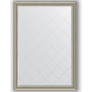 Зеркало с гравировкой поворотное Evoform Exclusive-G 131x186 см, в багетной раме - хамелеон 88 мм (BY 4493)