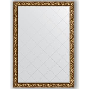 Зеркало с гравировкой поворотное Evoform Exclusive-G 134x188 см, в багетной раме - византия золото 99 мм (BY 4500) зеркало с гравировкой поворотное evoform exclusive g 99x124 см в багетной раме византия золото 99 мм by 4371