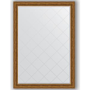Зеркало с гравировкой поворотное Evoform Exclusive-G 134x189 см, в багетной раме - травленая бронза 99 мм (BY 4505) зеркало с гравировкой поворотное evoform exclusive g 99x124 см в багетной раме травленая бронза 99 мм by 4376