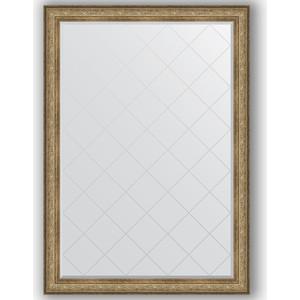 Зеркало с гравировкой поворотное Evoform Exclusive-G 135x190 см, в багетной раме - виньетка античная бронза 109 мм (BY 4511) юецин 4511