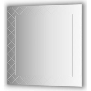 Зеркало с гравировкой Evoform Florentina 90x90 см (BY 5005) зеркало evoform by 0774