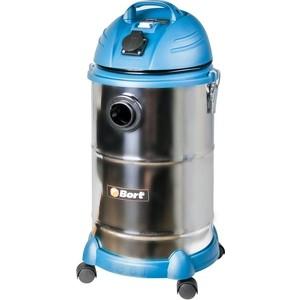 Строительный пылесос Bort BSS-1530N-Pro пылесос промышленный bort bss 1015