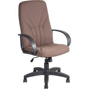 Кресло Алвест AV 101 PL (727) MK ткань 403 корич с темн. Ниткой