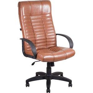 Кресло Алвест AV 104 PL (727) MK эко кожа 220 коньяк