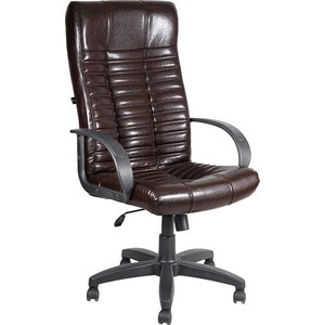 Кресло Алвест AV 104 PL (727) MK эко кожа 221 шоколад